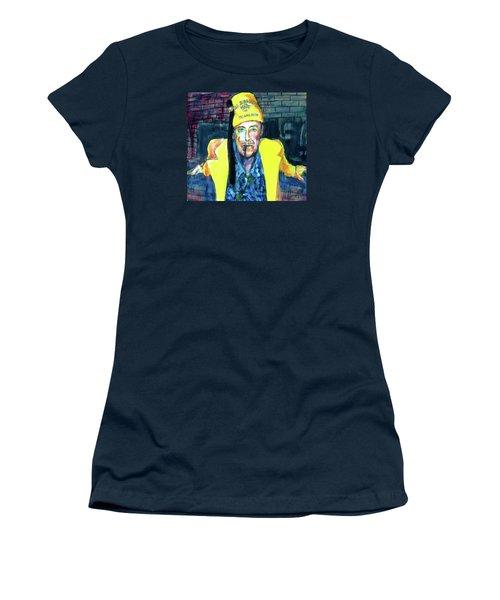 Frankie Delboo  Women's T-Shirt (Junior Cut) by Les Leffingwell