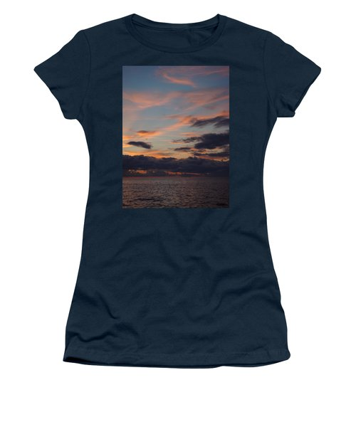 Women's T-Shirt (Junior Cut) featuring the photograph God's Evening Painting by Bonfire Photography