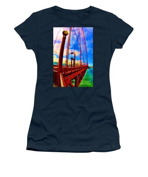 Golden Gate Bridge - 8 Women's T-Shirt