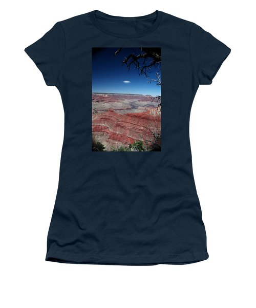 Women's T-Shirt (Junior Cut) featuring the photograph Grand Canyon Number Three by Lon Casler Bixby