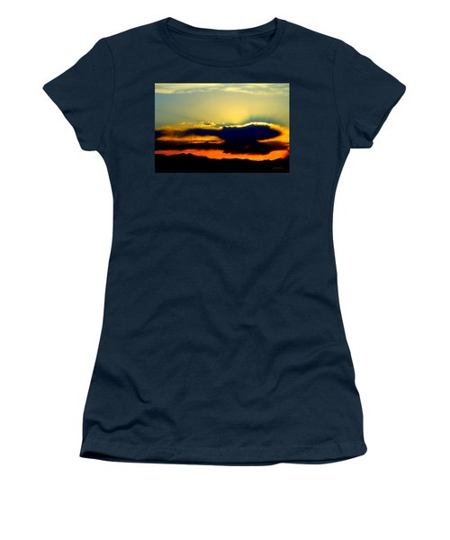Heaven Is Watching Women's T-Shirt (Junior Cut) by Jeanette C Landstrom