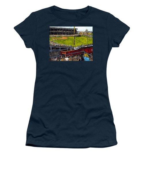 Hey Hey 353 Women's T-Shirt (Junior Cut) by Phil Strang
