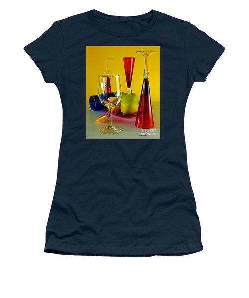 Honor To  Mondrian  Women's T-Shirt (Junior Cut) by Elf Evans