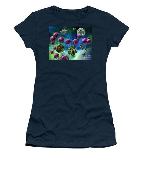 Immune Response Cytotoxic 1 Women's T-Shirt