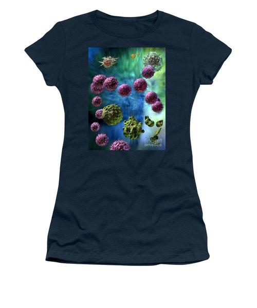 Immune Response Cytotoxic 3 Women's T-Shirt