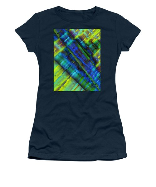 Women's T-Shirt (Junior Cut) featuring the photograph Layers Of Blue by David Pantuso