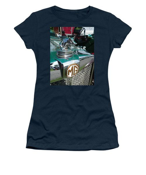 M G Hood 2 Women's T-Shirt (Junior Cut)
