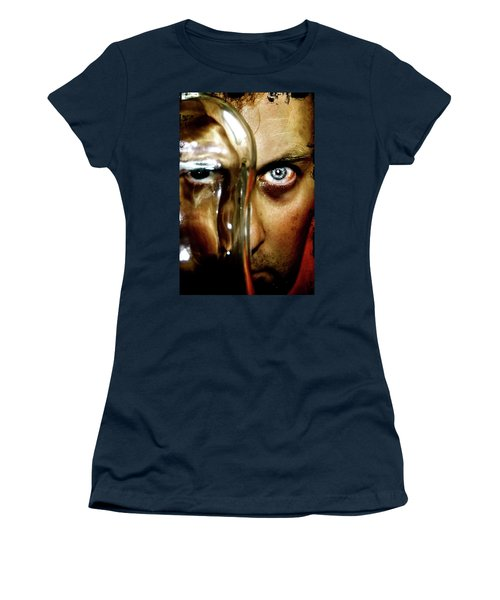 Women's T-Shirt (Junior Cut) featuring the photograph Mad Man by Pedro Cardona