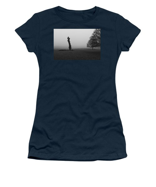 Women's T-Shirt (Junior Cut) featuring the photograph Naked Tree by Maj Seda