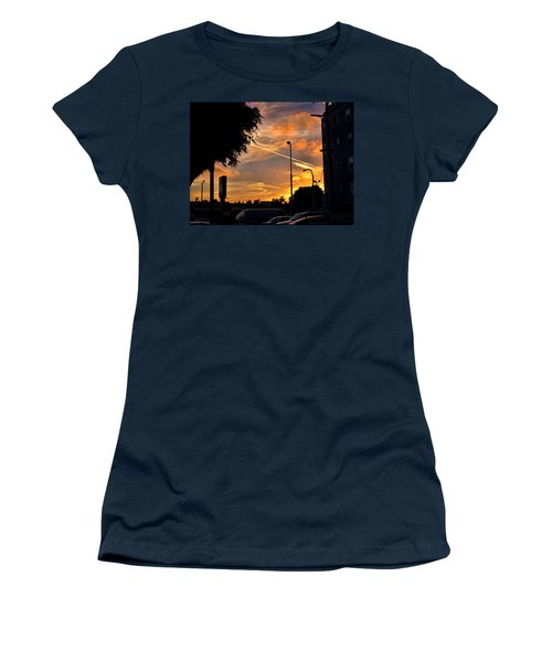 October Sunset 6 Women's T-Shirt (Athletic Fit)