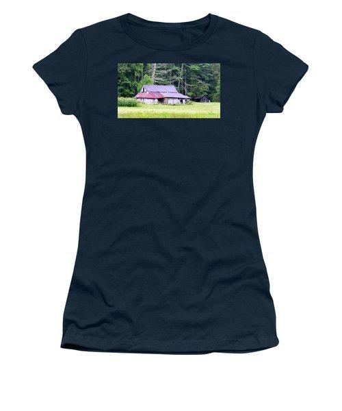 Old Barn Near Cashiers Nc Women's T-Shirt