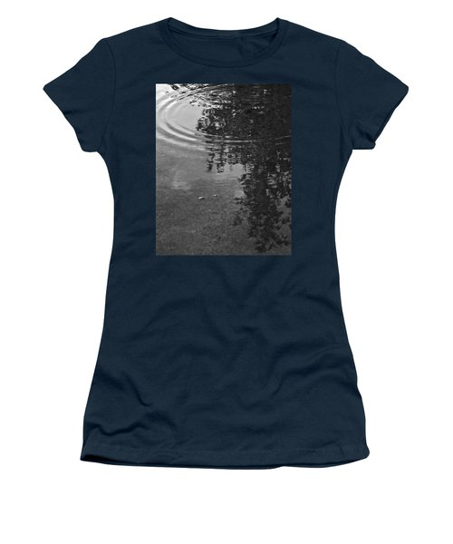 Women's T-Shirt (Junior Cut) featuring the photograph Rippled Tree by Kume Bryant