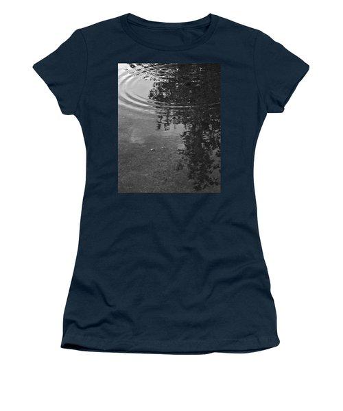 Rippled Tree Women's T-Shirt (Junior Cut) by Kume Bryant