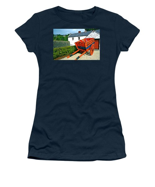 Women's T-Shirt (Junior Cut) featuring the photograph The Cart by Charlie and Norma Brock