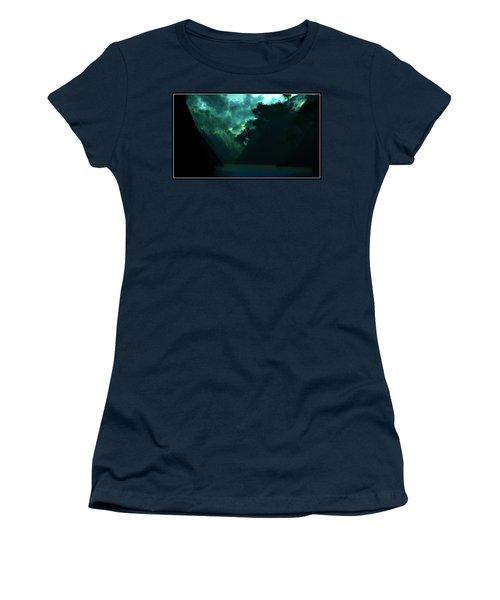 Women's T-Shirt (Junior Cut) featuring the digital art The Majesty... by Tim Fillingim