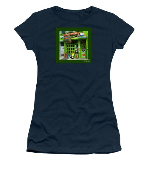 Women's T-Shirt (Junior Cut) featuring the photograph Trailer Park by Patricia Overmoyer