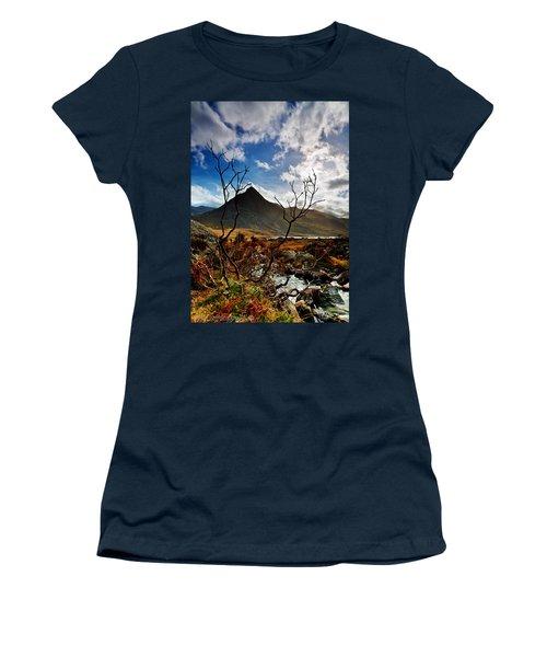 Tryfan And Tree Women's T-Shirt
