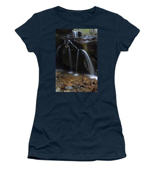 Waterfall On Emory Gap Branch Women's T-Shirt