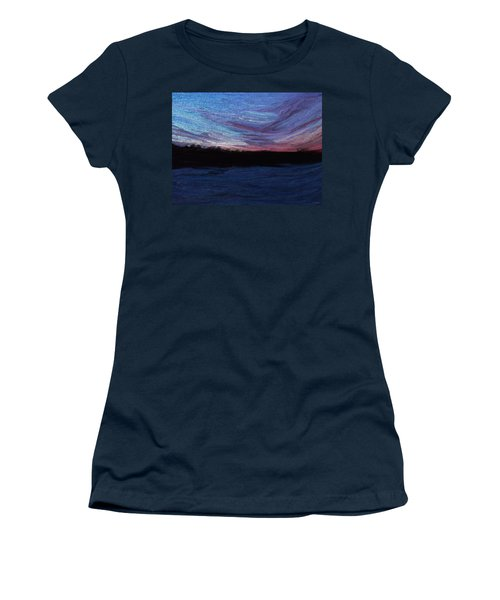 Winter Sunset Women's T-Shirt