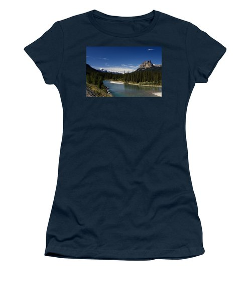 Castle Mountain 1 Women's T-Shirt (Athletic Fit)
