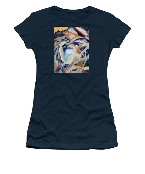 01317 Process Women's T-Shirt (Junior Cut) by AnneKarin Glass