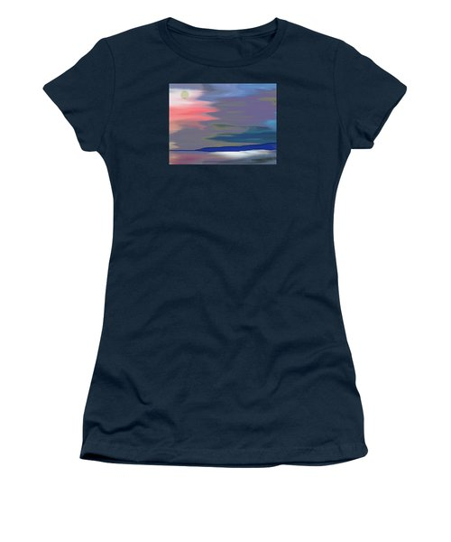 A Quiet Evening Women's T-Shirt (Junior Cut) by Lenore Senior