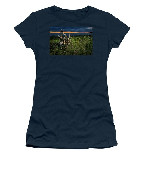 Women's T-Shirt featuring the photograph Beached II by Doug Gibbons