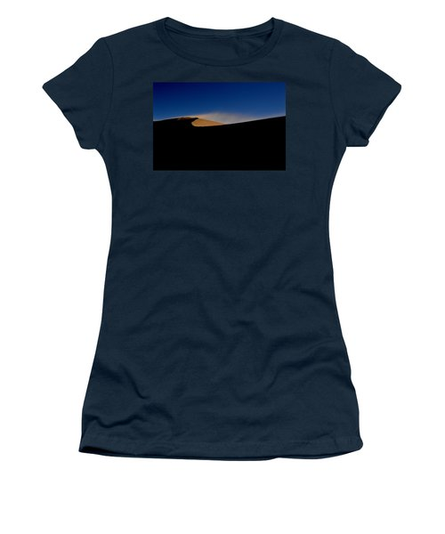 Women's T-Shirt (Junior Cut) featuring the photograph Blowin In The Wind.. by Al Swasey