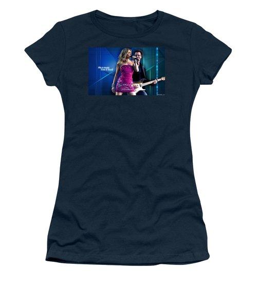 Celine Dion Women's T-Shirt (Athletic Fit)