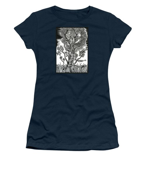 Windblown Women's T-Shirt (Athletic Fit)