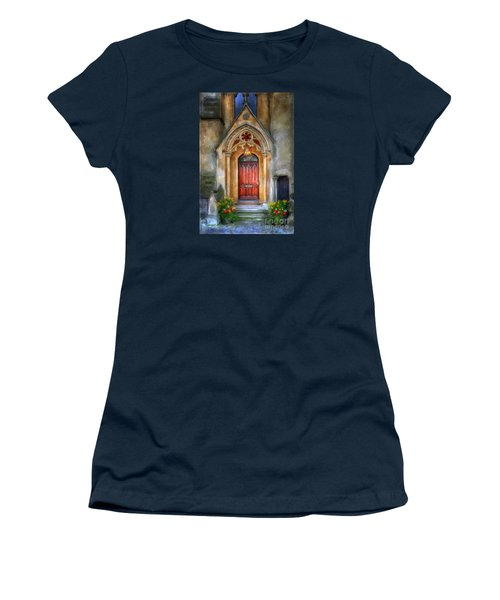 Evensong Women's T-Shirt (Junior Cut) by Lois Bryan