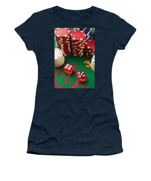 Gambling Dice Women's T-Shirt