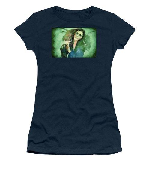 In Vain Women's T-Shirt (Junior Cut) by Gun Legler
