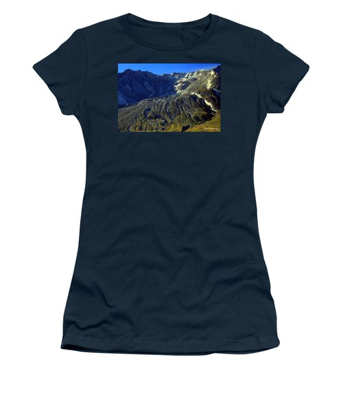 Mt. St. Helens Women's T-Shirt (Athletic Fit)
