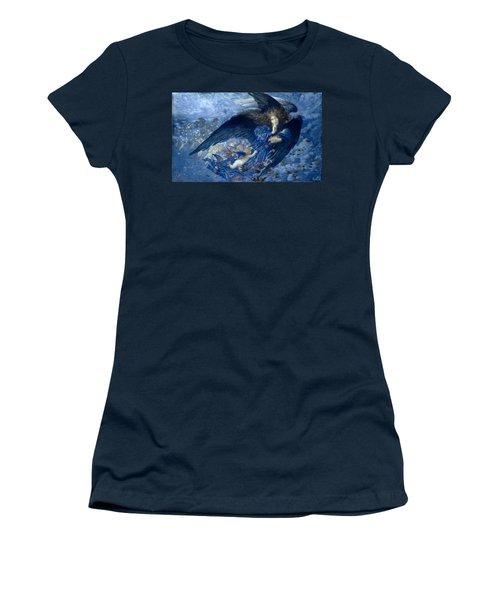 Night With Her Train Of Stars Women's T-Shirt