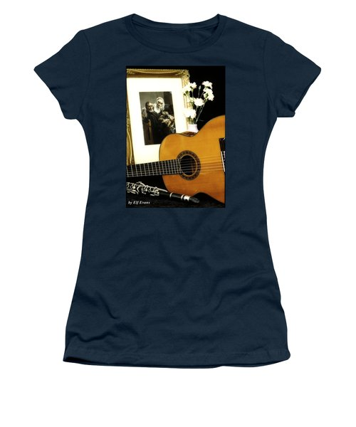 Women's T-Shirt (Athletic Fit) featuring the photograph Number 2 by Elf Evans