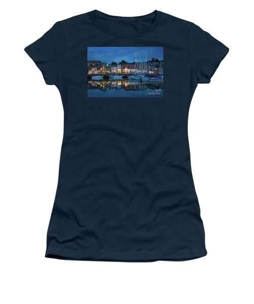 Women's T-Shirt (Junior Cut) featuring the photograph Padstow Evening by Brian Jannsen