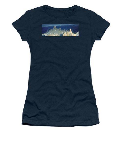 Panoramic Aerial View At 3400 Meters Women's T-Shirt