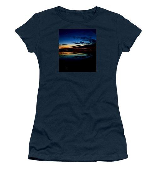 Shades Of Calm Women's T-Shirt (Junior Cut) by William Bartholomew