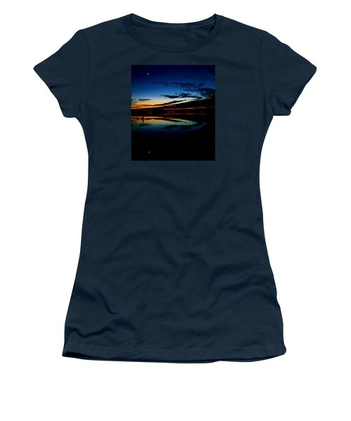 Shades Of Calm Women's T-Shirt (Athletic Fit)