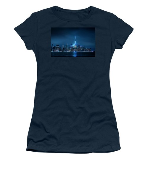 Skyline At Night Women's T-Shirt