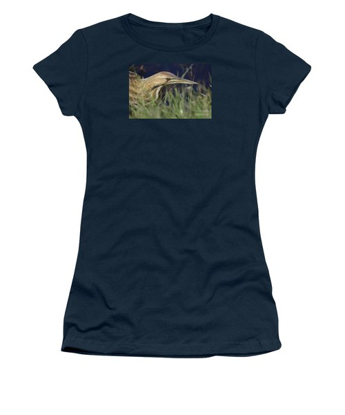 Women's T-Shirt (Junior Cut) featuring the photograph The Hunt by Kathy Gibbons