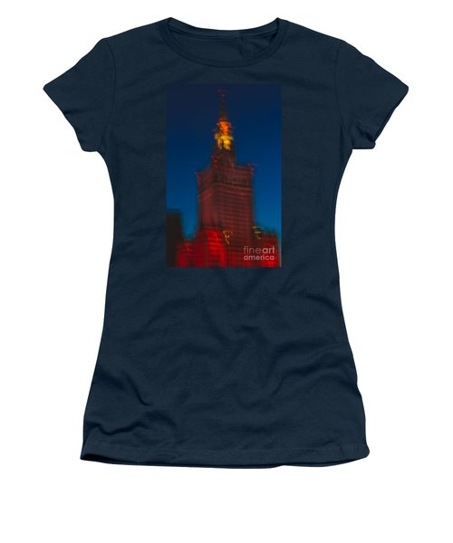 The Palace Of Culture And Science Women's T-Shirt