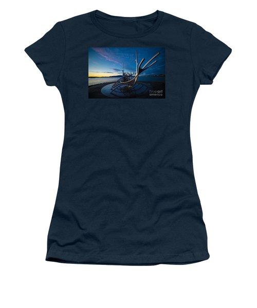 The Sun Voyager  Women's T-Shirt (Junior Cut) by Mariusz Czajkowski