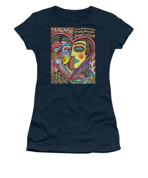 Tree Of Life Heart Lovers Women's T-Shirt (Athletic Fit)