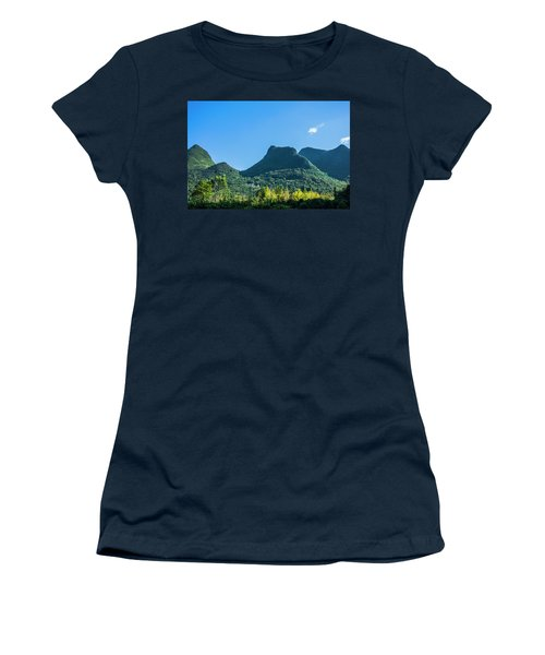 Countryside Scenery In Autumn Women's T-Shirt
