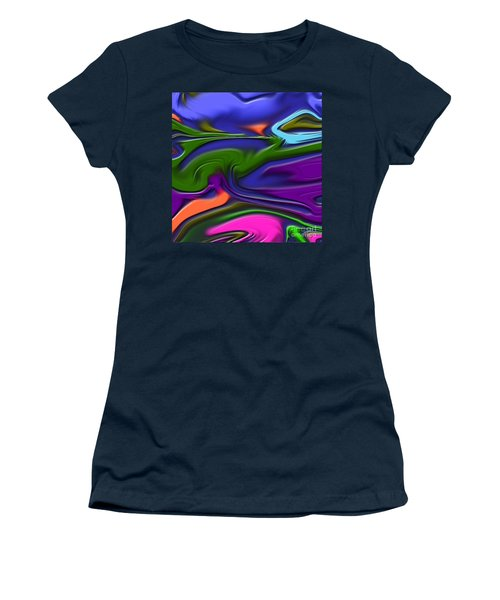 1691 Abstract Thought Women's T-Shirt (Athletic Fit)