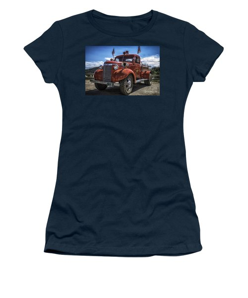1940 Chevrolet Fire Truck  Women's T-Shirt