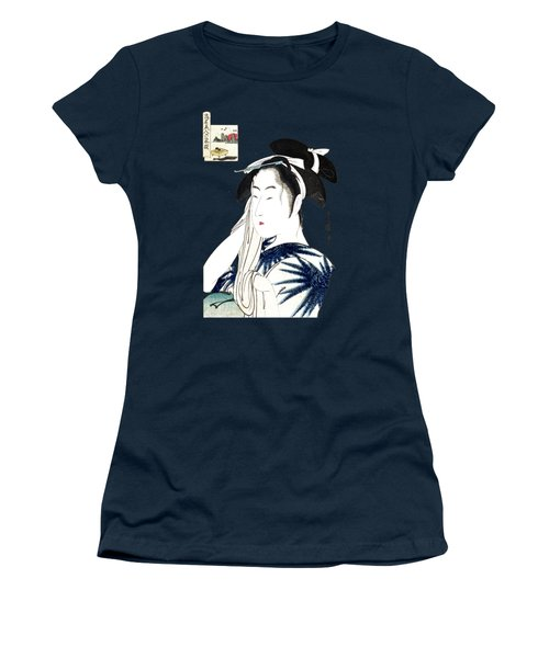 19th C. Portrait Of A Japanese Geisha Women's T-Shirt