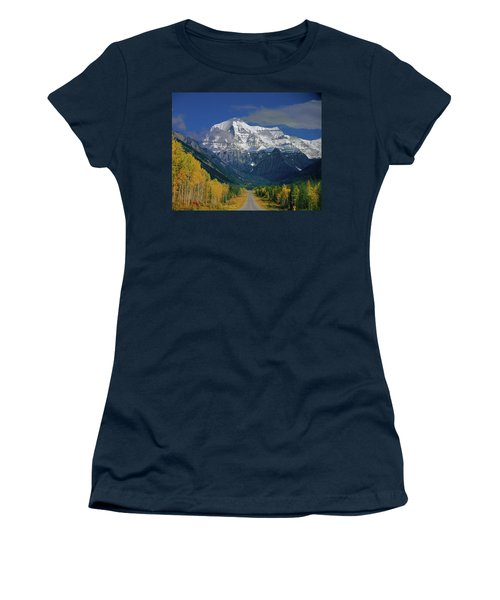 1m2441-h Mt. Robson And Yellowhead Highway H Women's T-Shirt
